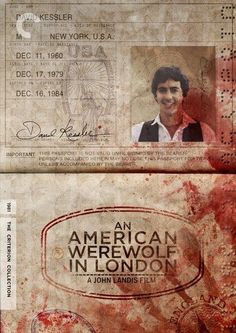 An American Werewolf in London - movie poster