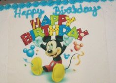 Disney Mickey Mouse cake