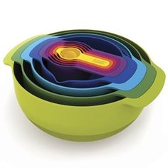 Joseph Joseph Nest™ 9 Plus Compact Food Preparation Set #VonMaur #WeddingGift #Cookware
