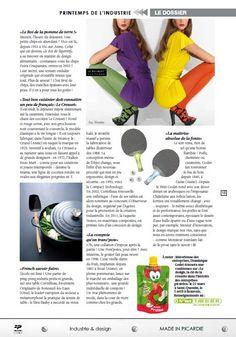 Deuxième page pour le Creuset dans le magazine Agir en Picardie n°156