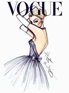 'VOGUE' Fashion Illustrations by Hayden Williams