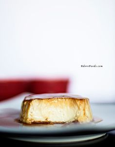 Creamy Caramel Flan is an easy custard dessert recipe made with milk and so popular in many parts of the world: Europe, South America and some Asian countries too. Flan Dessert, Custard Desserts, Cookie Desserts, Easy Desserts, Delicious Desserts, Yummy Food, Filipino Desserts, Argentine Recipes, Cuban Recipes