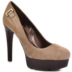 Guess Shoes   Ivins - Brown Multi Suede