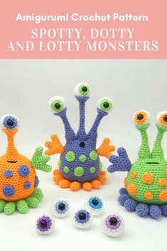 Mesmerizing Crochet an Amigurumi Rabbit Ideas. Lovely Crochet an Amigurumi Rabbit Ideas. Easy Crochet Patterns, Crochet Patterns Amigurumi, Crochet Designs, Crochet Dolls, Crochet Yarn, Knitting Patterns, Yarn Projects, Crochet Projects, Aliens