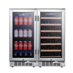 Buy the EdgeStar Stainless Steel Direct. Shop for the EdgeStar Stainless Steel 30 Inch Wide 30 Bottle 80 Can Side-by-Side Wine and Beverage Cooler and save.