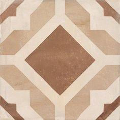 Marca Corona Terra Geometria Deco C 8X8