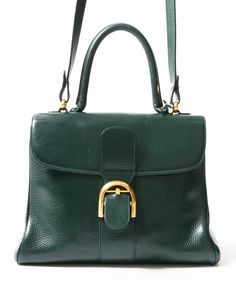 c91ca29a37 Delvaux Green Brilliant authentic secondhand luxury designer bags safe  online shopping webshop labels LabelLOV Antwerp Belgium