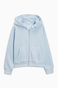 Buy Pale Pink Zip Through Hoody from the Next UK online shop Latest Fashion For Women, Mens Fashion, Hooded Jacket, Light Blue, Hoodies, Sweaters, Jackets, Stuff To Buy, Shopping