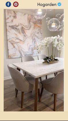 Table Decor Living Room, Dining Room Furniture, Home Decor Bedroom, Diy Furniture, Home Room Design, Dining Room Design, Home Interior Design, Diy Wall Art, Diy Wall Decor