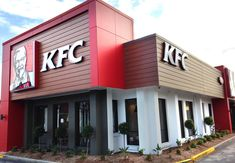 Knotwood aluminum is a great choice for cladding as it is non-combustible and complies with the NCC. Aluminium Cladding, Aluminium Doors, Kfc, Backlit Signage, City Lights At Night, Cladding Systems, City Model, Custom Homes, Minimalism
