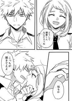 Kacchako / Bakugou Katsuki / Uraraka Ochako / Boku no hero académia