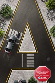 Don't text and drive , 3, Somark Curitiba, Acesso, Print, Outdoor, Ads