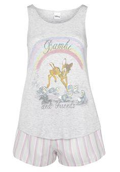Clothing at Tesco | Disney Bambi Shorts Pyjamas > nightwear > Nightwear & Slippers > Women