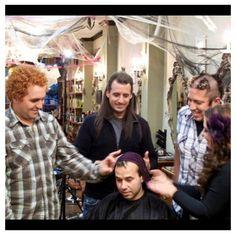 Impractical Jokers on truTV Sal Vulcano, James Murray, Brian Quinn, and Joe Gatto Bad hair day