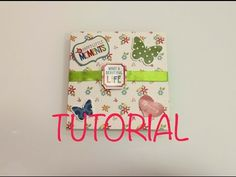 DIY tutorial mini album niño paso a paso mini album bebé - YouTube