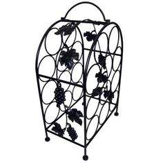 Wine Racks - Pangaea Home and Garden BTW057K 11 Bottle Iron Wine Rack with Grape Vines >>> Learn more by visiting the image link.