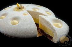 Une merveille d'entremets : le citron/praliné - Sucre d'Orge et Pain d'Epices