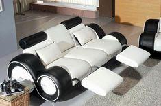 Living Room Idea Furniture Black And White Model: Living Room Idea ...