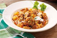Schwammerlgulasch....sooooo gut! Maggi Fix, Sauce Hollandaise, Spaghetti, Tomate Mozzarella, Pasta, Shrimp, Meat, Chicken, Food