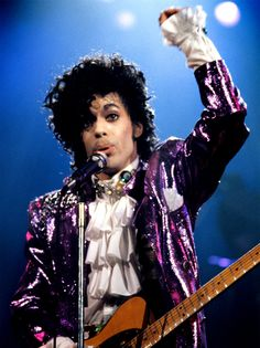 Classic Prince | 1984/85 Purple Rain - Fantastic *HiRez* concert photo!