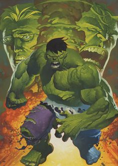 Hulk's a popular guy. That's ok though because he's so much fun to work on. This is my largest painting to date at 14 by 18 and it took what felt like an eternity to finish. I don't know if I'm jus...