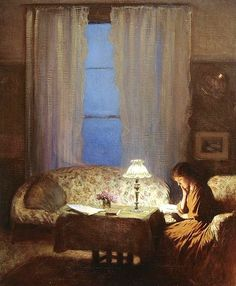 Reading and Art - George Clausen
