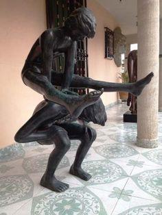 Saltando El Burro, Escultura Hecha De Bronce, Muy Bonita! $9,344.80 USD Mexico Figuras y Esculturas