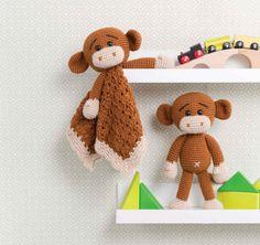 Maverick the Monkey Amigurumi Crochet Pattern