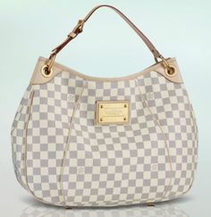 Galleria PM. Damier Azur. Lovely & would last forever. Price is hard to swallow though. http://www.louisvuitton.com/