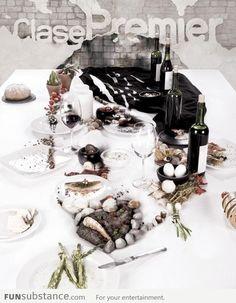 Epic 3d Dinner Table Portrait!
