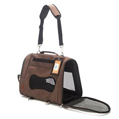 Prefer Pets 328CH Backpack Carrier Chocolate * Want additional info? Click on the image.-It is an affiliate link to Amazon. #PetCarriersTravel