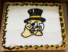 We offer custom cakes, cupcakes, and cake squares in delicious flavors like Pink Lemonade, Red Velvet, Devil's Food and more! Sports Themed Cakes, Demon Deacon, Devils Food, Wake Forest, Bakery Cakes, Specialty Cakes, Pink Lemonade, Custom Cakes, Cake Ideas