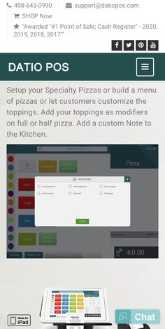 Datio POS is the most affordable iPad Point Of Sale for Pizza POS! Our point of sales is easy to use simple solution for Apple iPads. Choose Datio POS for quick and reliable point of sale products. Pizza Special, Point Of Sale, Cash Register, Pos, Track, Restaurant, Let It Be, Point Of Purchase, Runway