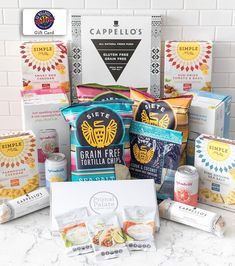 Whos ready to PARTY?! Weve teamed up with some of our favorite grain-free brands to give away THE ULTIMATE PALEO PARTY! This prize will set up one lucky winner to host a party for 20 people!!! The prize includes our brand new Party Pack of seasonings and dip mixes our cookie dough and pizzas from @cappellos  a $150 gift card from @uswellnessmeats chips and tortillas from @sietefoods crackers from @simplemills and refreshing fruit-infused sodas from @spindriftfresh . Essentially EVERYTHING…