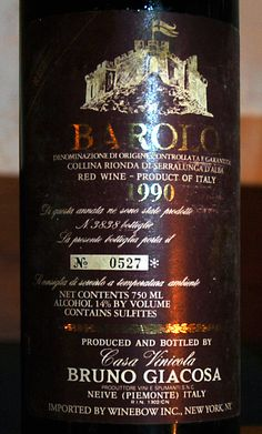 Barolo at it's best