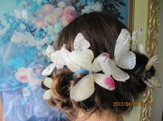 Wedding Butterfly Bobbypins Wedding Butterfly by StylishJewels, $40.00