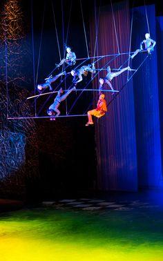 "Time flies when you're having fun! | ""O"" by Cirque du Soleil"
