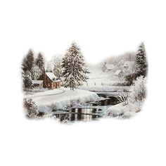 3097crc.png ❤ liked on Polyvore featuring winter, backgrounds, landscape, snow and christmas