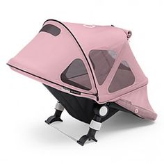 <p>The Bugaboo Cameleon³ Breezy Sun Canopy is a multifunctional canopy which provides your child sun protection and extra ventilation on warm days. The glacier grey fabric provides sun protection of UPF 50+, is water- & oil- repellent and highly durable while the fine mesh allows cool breezes through. </p><br/><br/><p>It provides a head-to-toe coverage and has a zip-up window for easy access to your child or for extra ventilation. Thanks to its innovative construction, you can arrange t...
