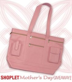 Mother's Day is just around the corner, so this week's giveaway is a Royce pink leather business tote. Win something special for mom! She deserves it! Brought to you by Shoplet.com - everything for your business. #giveaway