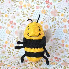 Bizzle the Bumblebee Free Crochet Pattern By Elisa's Crochet