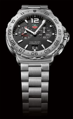 TAG Heuer Formula 1 Alarm Steel Chronograph
