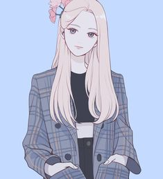 Discover recipes, home ideas, style inspiration and other ideas to try. Pretty Anime Girl, Beautiful Anime Girl, Kawaii Anime Girl, Anime Art Girl, Manga Girl, Korean Anime, Korean Art, Pretty Art, Cute Art