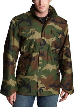 Alpha Industries Men's M-65 Field Coat,Woodland Camo,X-Large. From #Alpha Industries. List Price: $115.00. Price: $98.79