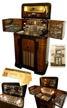 """cgmfindings: Art Deco Philco RadioBar """" This is one of the most beautiful things I've ever seen. Art Deco Furniture"""