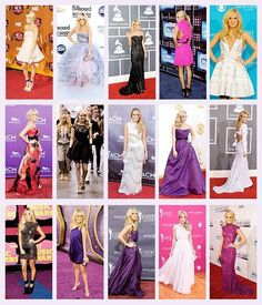 Glamorous Carrie at award shows