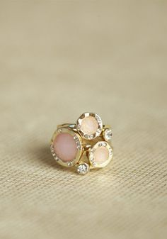 #Ruche                    #ring                     #muse #stackable #ring #blush #ShopRuche.com        muse stackable ring set in blush at ShopRuche.com                             http://www.seapai.com/product.aspx?PID=494107