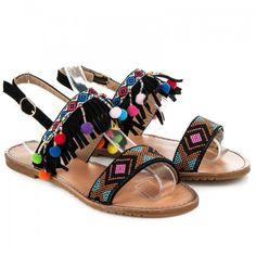 Dámské sandály Seastar Cherista černé – černá Tak tyto sandálky jsou prostě úžasné. Pokud toužíte po něčem naprosto výjimečném a odvázaném, tak toto je pro vás jako stvořené. Dámské sandálky s řemínkem okolo nohy jsou …
