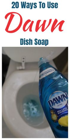 Dawn dish soap household and cleaning tips, tricks, and hacks. #cleaningtips #householdtips #cleaninghacks #householdhacks House Cleaning Tips, Deep Cleaning, Cleaning Hacks, Kitchen Cleaning, Diy Hacks, Outdoor Fun For Kids, Dawn Dish Soap, Rubbing Alcohol, Hand Sanitizer