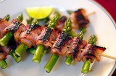 Bacon wrapped asperagus